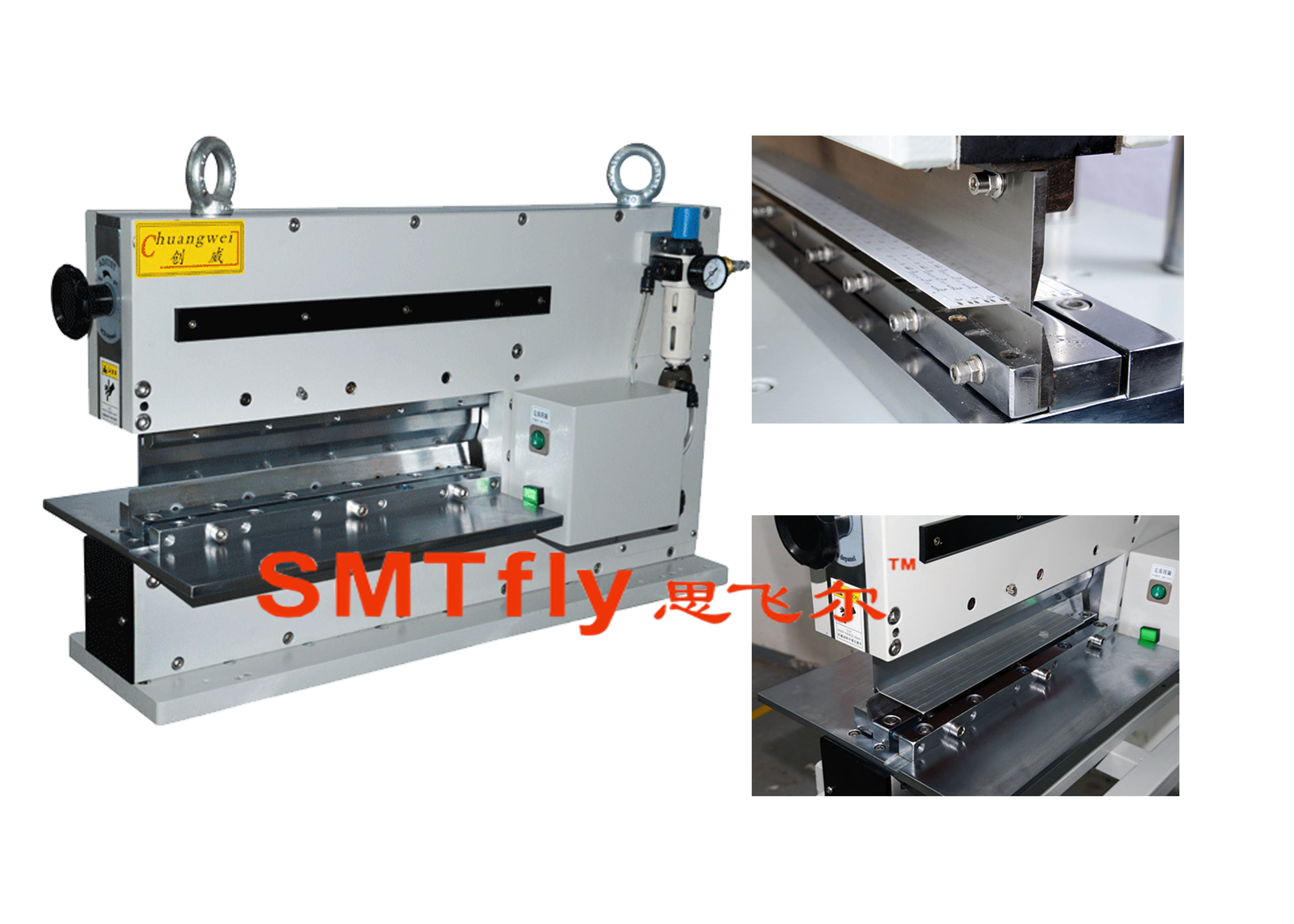 Automatic V-cut Groove PCB Separator,SMTfly-400J